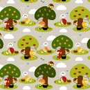 Leprechauns Get Bored Too Fabric by Green Couch Studio
